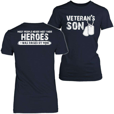 Image of Veterans Son T Shirt