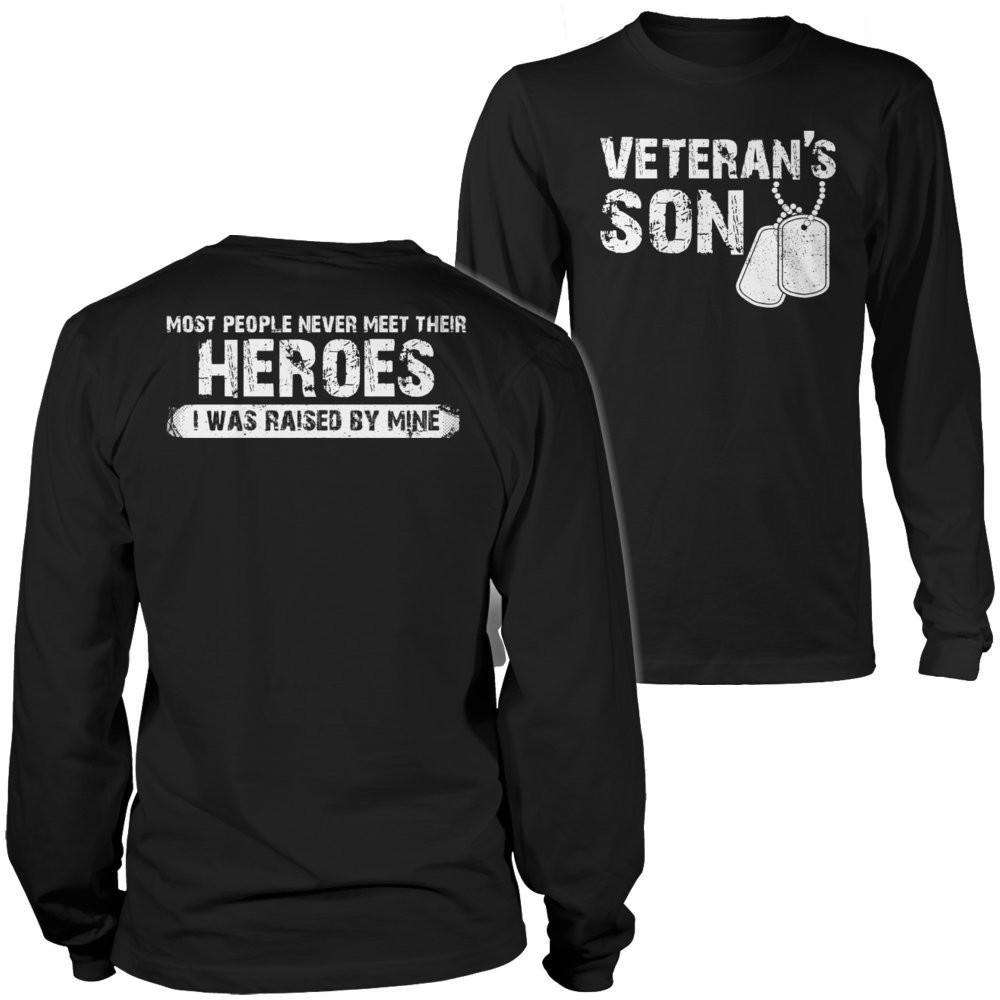 Veterans Son T Shirt