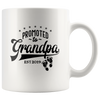 Promoted To Grandpa Coffee Mug 2019