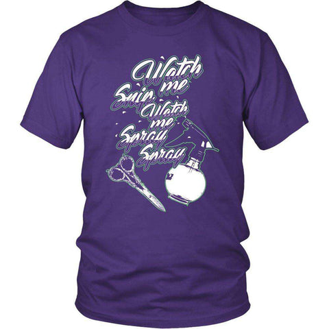 Image of WATCH ME SNIP SNIP WATCH ME SPRAY SPRAY T SHIRT