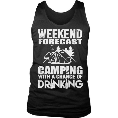 Image of Weekend Forecast Camping T Shirt