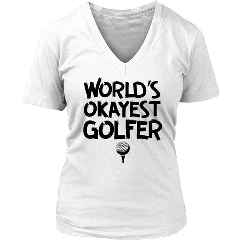 Image of World's Okayest Golfer T Shirt