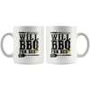 Will BBQ For Beer Mug