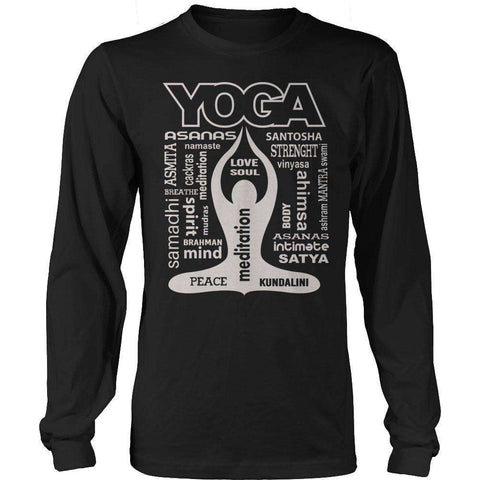 Image of Yoga Is My Life T Shirt