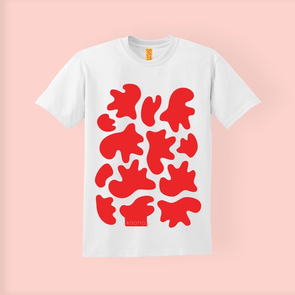 SCREEN PRINTED T-SHIRT | FLUBBER | RISOTTO