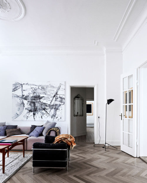living room scandinavian