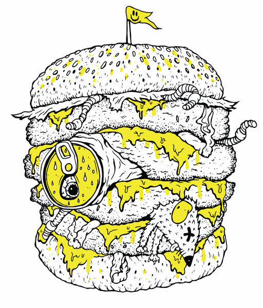 burger deluxe - Beautiful, Affordable, Curated Artwork - TheArtBowl.com