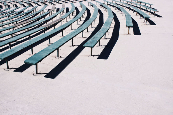bleached bleachers - Beautiful, Affordable, Curated Artwork - TheArtBowl.com