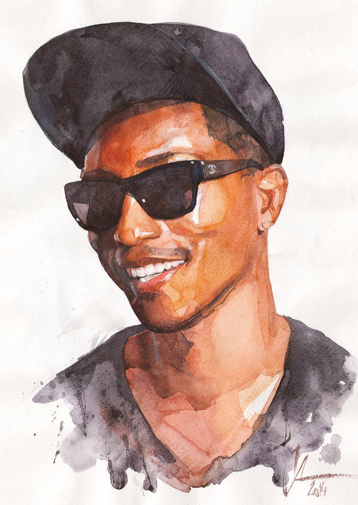 pharrell - Beautiful, Affordable, Curated Artwork - TheArtBowl.com