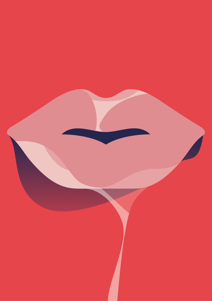 sticky lips - Beautiful, Affordable, Curated Artwork - TheArtBowl.com