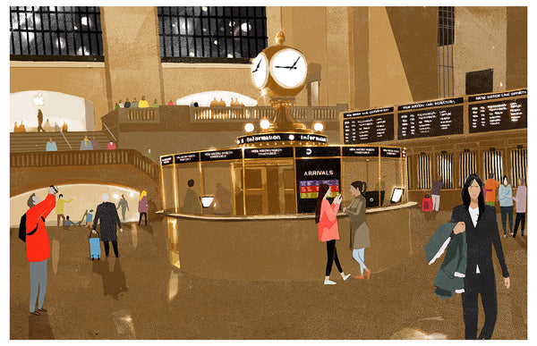 grand central - Beautiful, Affordable, Curated Artwork - TheArtBowl.com