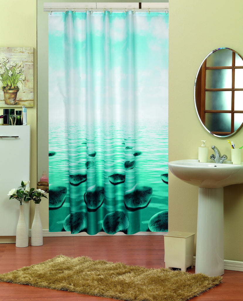SHOWER CURTAIN#345