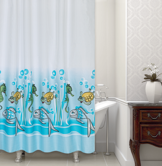 SHOWER CURTAIN#344