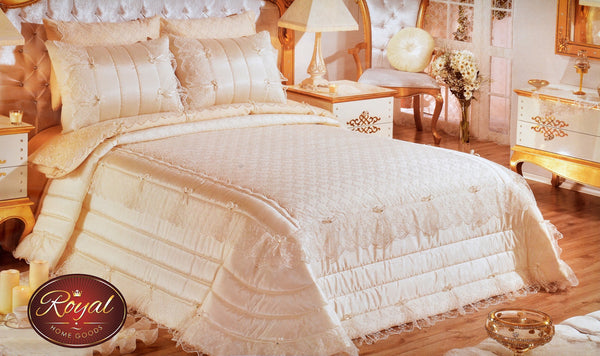 "3 Pcs ""BELLA"" Bed Cover Set (Hand-Made)"