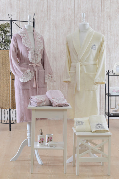 "18 Pcs ""CAROLINA"" Bathrobe Set"