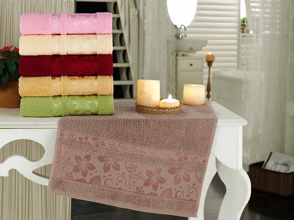 """FULYA""12 Pcs Kitchen Towels Set"