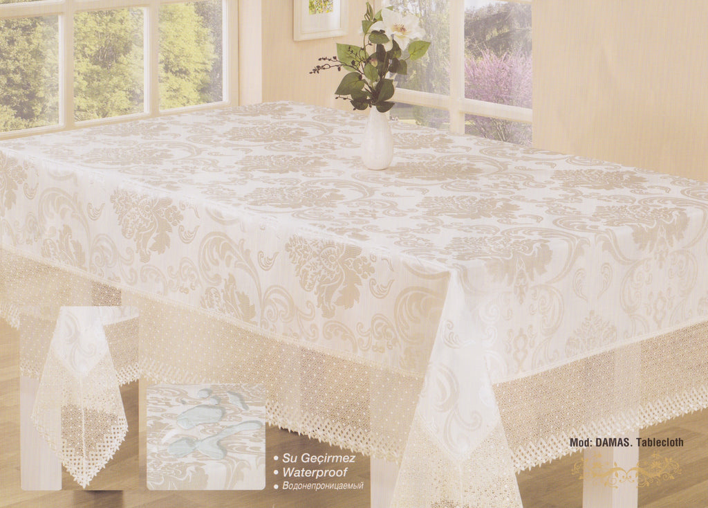 """DAMAS""Tablecloth"