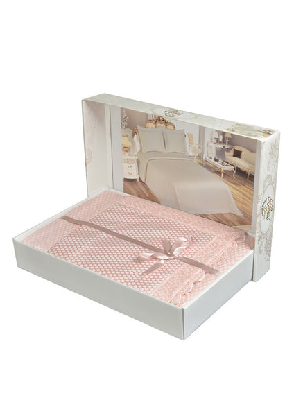 "3 Pcs ""Dantella"" Bed Cover Set"