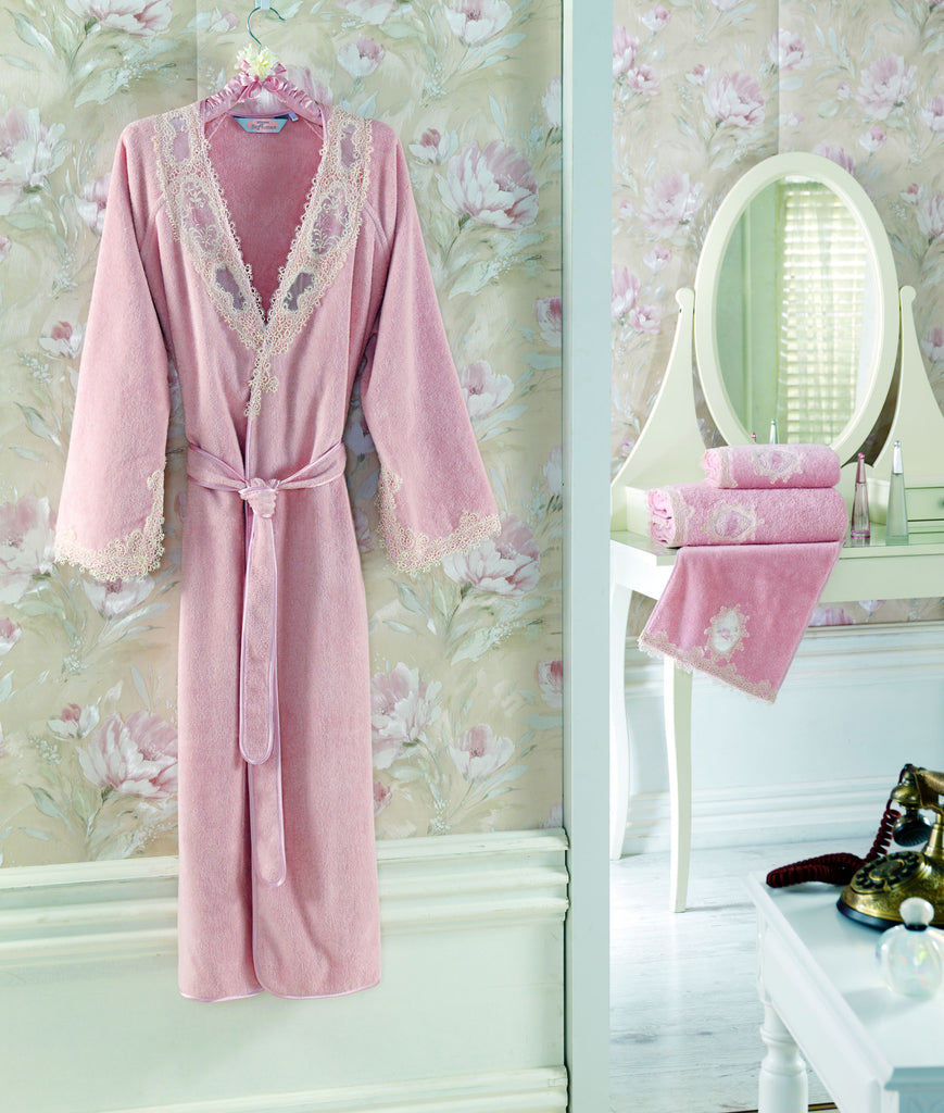 """Destan"" Bathrobe 100% Soft Cotton"