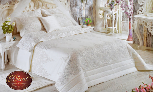 "3 Pcs ""DORE"" Bed Cover Set (Hand-Made)"