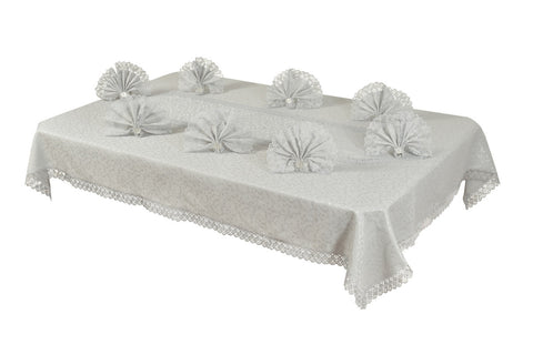 Sultan Table Cloth Set  ''Gray''