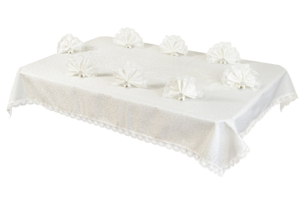 "Sultan Table Cloth Set ""French Lace"""