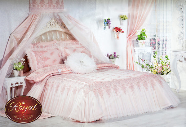 "3 Pcs ""HELENA"" Bed Cover Set (Hand-Made)"