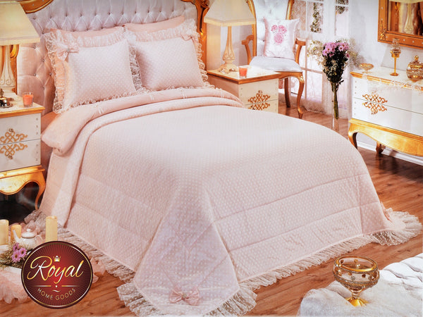 "3 Pcs ""LIDIYA"" Bed Cover Set (Hand-Made)"