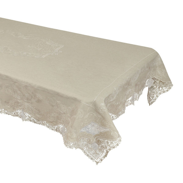 Linen Table Cloth (Hand-Made) Style # 246