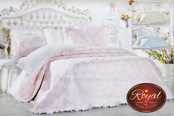"3 Pcs ""MILENIUM"" Bed Cover Set (Hand-Made)"