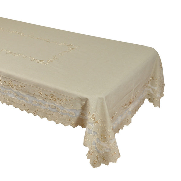 Linen Table Cloth (Hand-Made) Style # 231