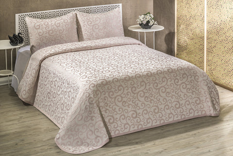 Curly Bed spread (Queen)