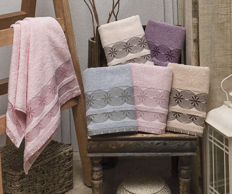 "Cotton Towels Set""Larissa"""