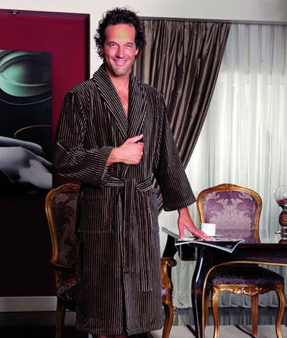 Platinum Men's Bathrobe 100% Soft Cotton