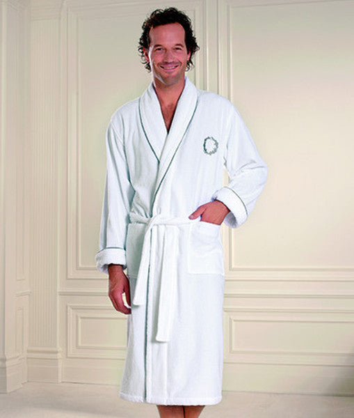 Shezade Men's Bathrobe 100% Soft Cotton