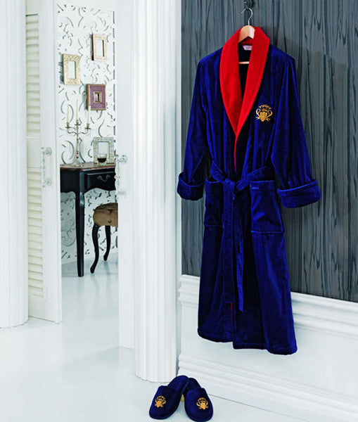"""Snob"" Men's Bathrobe Set 100% Soft Cotton"
