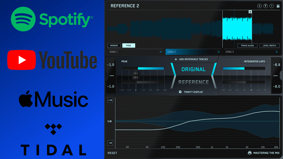 How To Use Music From YouTube, Spotify, and Apple Music As A Reference Track