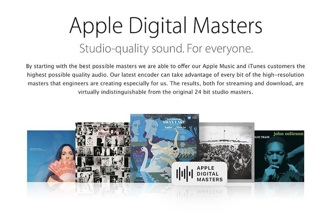 Apple Digital Masters - How To Get Your Song In The Apple Digital Master Section Of iTunes