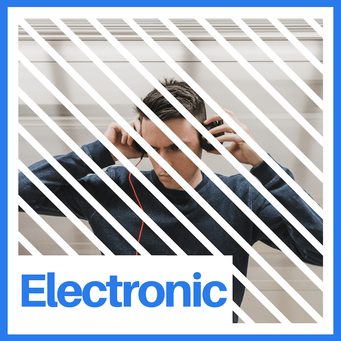 Electronic songs mix deconstruction