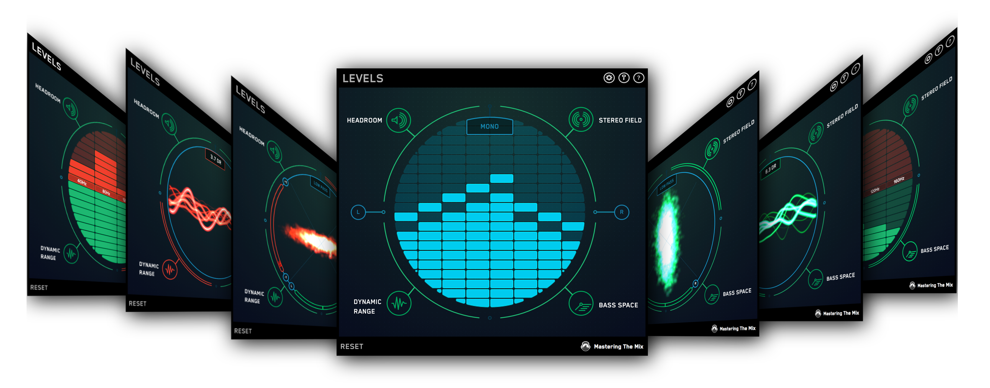 LEVELS mixing and metering plugin