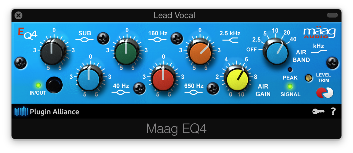 Vocal EQ