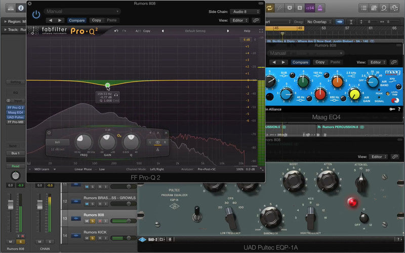 Mixing Sub Bass – Mastering The Mix