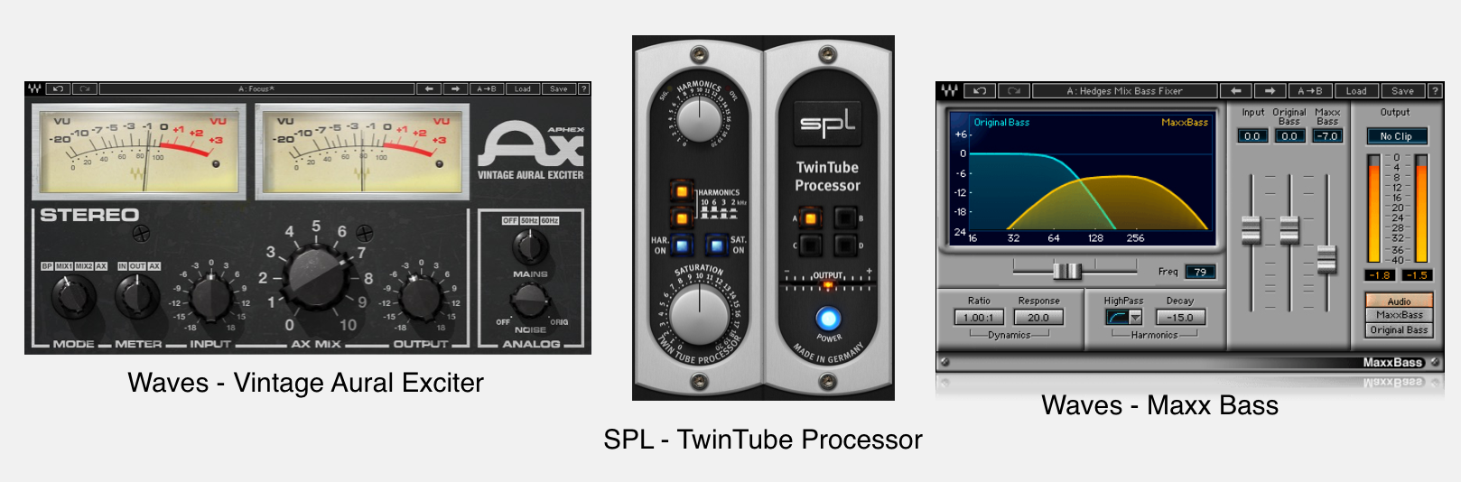 Best plugins for mixing bass.