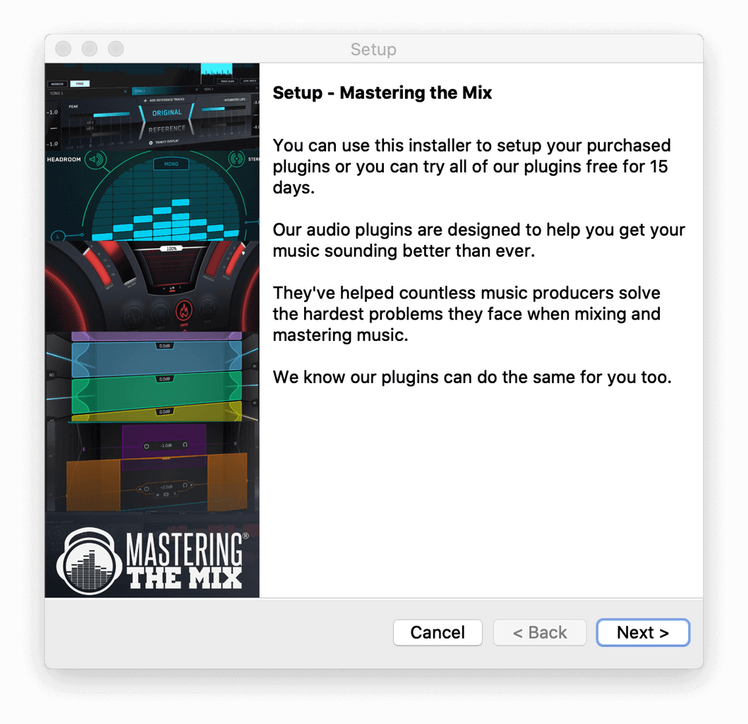 Mastering The Mix installer