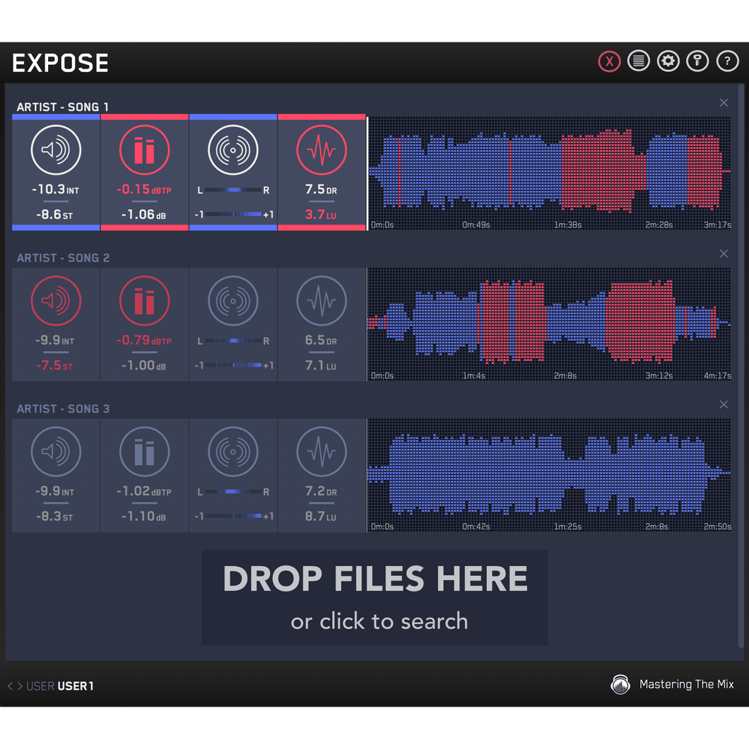 EXPOSE | Audio quality control application