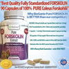 Pure Forskolin Extract 250mg Standardized to 20% (90ct)