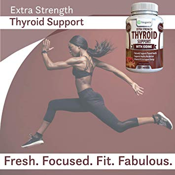 Thyroid Support Complex Supplement (120 capsules)