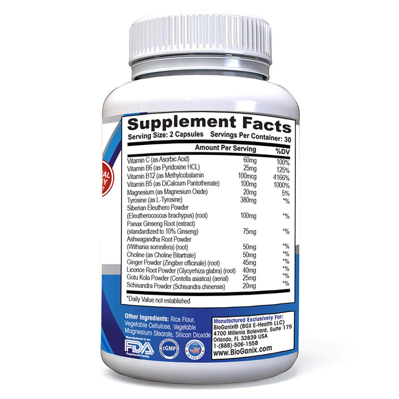 Adrenal Support Complex (60 capsules)