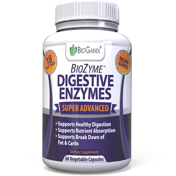 BioZyme Digestive Enzymes Supplement (60ct) - Bioganix