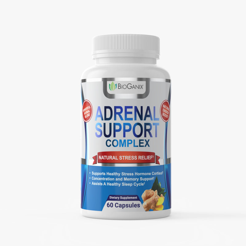 Adrenal Support Complex (60ct) - Bioganix